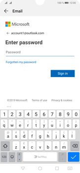 Huawei P30 - E-mail - 032c. Email wizard - Outlook - Step 7