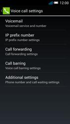 Alcatel OT-5036X Pop C5 - Voicemail - Manual configuration - Step 7