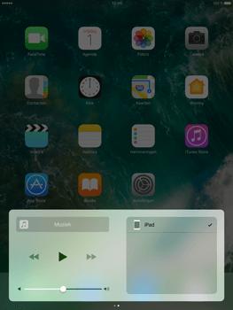 Apple iPad Pro 9.7 - iOS 10 - iOS features - Bedieningspaneel - Stap 9