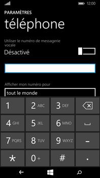 Microsoft Lumia 640 XL - Messagerie vocale - Configuration manuelle - Étape 8