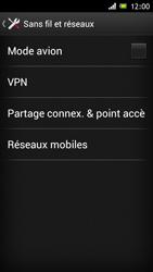 Sony Xperia J - Internet et roaming de données - Désactivation du roaming de données - Étape 5
