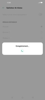 Oppo Find X2 - Réseau - Sélection manuelle du réseau - Étape 12