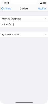 Apple iPhone X - iOS 13 - Prise en main - Comment ajouter une langue de clavier - Étape 6