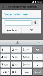 Huawei Ascend Y530 - Voicemail - Handmatig instellen - Stap 7