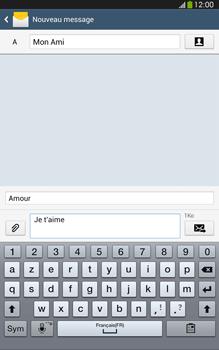 Samsung Galaxy Tab 3 8 4G - Contact, Appels, SMS/MMS - Envoyer un MMS - Étape 13
