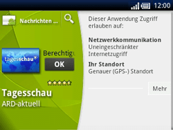 Sony Ericsson Xperia X10 Mini Pro - Apps - Herunterladen - Schritt 8