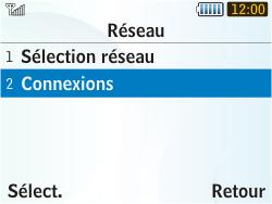 Samsung S3350 Chat 335 - Internet - Configuration manuelle - Étape 5