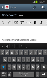 Samsung I8730 Galaxy Express - E-mail - E-mails verzenden - Stap 9