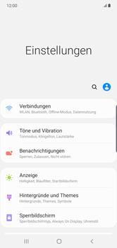 Samsung Galaxy Note 10 Plus 5G - Netzwerk - So aktivieren Sie eine 5G-Verbindung - Schritt 4
