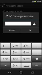 Sony C5303 Xperia SP - Messagerie vocale - Configuration manuelle - Étape 8