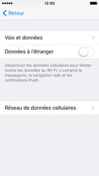 Apple iPhone SE - Internet - désactivation du roaming de données - Étape 6