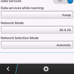 BlackBerry Q10 - Network - Manual network selection - Step 6