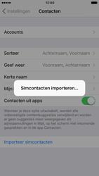 Apple iPhone 6s met iOS 10 (Model A1688) - Contacten en data - Contacten kopiëren van SIM naar toestel - Stap 5