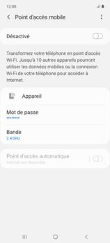 Samsung Galaxy A51 5G - Internet et connexion - Partager votre connexion en Wi-Fi - Étape 11