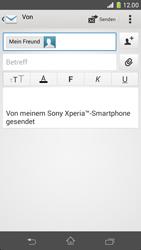 Sony Xperia Z1 Compact - E-Mail - E-Mail versenden - 1 / 1