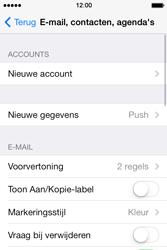 Apple iPhone 4 S iOS 7 - E-mail - Handmatig instellen - Stap 5