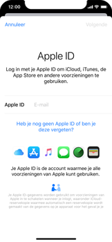 Apple iPhone X - iOS 13 - toestel resetten - back-up maken met jouw account - stap 6