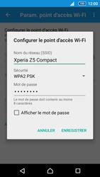 Sony Xperia Z5 Compact - Internet et connexion - Partager votre connexion en Wi-Fi - Étape 8