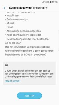 Samsung Galaxy S7 Edge - Android Oreo - Toestel reset - terugzetten naar fabrieksinstellingen - Stap 7