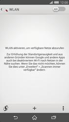 Sony Xperia Z2 - WLAN - Manuelle Konfiguration - 5 / 11