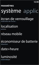 Nokia Lumia 710 - Internet - activer ou désactiver - Étape 4