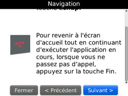 BlackBerry 8520 - Premiers pas - Créer un compte - Étape 15