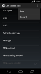 Motorola Moto G - Internet - Manual configuration - Step 15