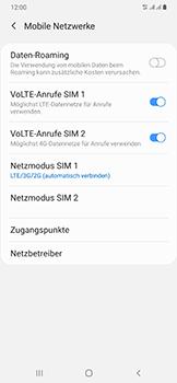 Samsung Galaxy A50 - Netzwerk - So aktivieren Sie eine 4G-Verbindung - Schritt 8
