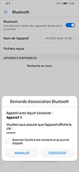 Huawei Mate 20 lite - Internet et connexion - Connexion avec un équipement multimédia via Bluetooth - Étape 8