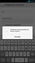 Huawei Ascend G526 - E-mail - configuration manuelle - Étape 17