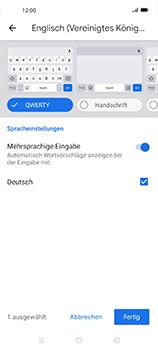 Oppo Find X2 Neo - Startanleitung - So fügen Sie eine Tastatursprache hinzu - Schritt 11