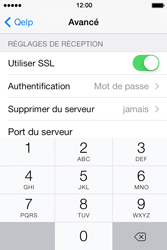 Apple iPhone 4S iOS 7 - E-mail - configuration manuelle - Étape 26