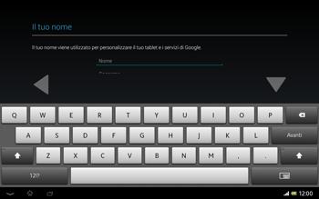 Sony Xperia Tablet Z LTE - Applicazioni - Configurazione del negozio applicazioni - Fase 5