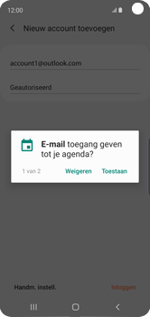 Samsung galaxy-s10e-dual-sim-sm-g970f - E-mail - 032c. Email wizard - Outlook - Stap 12