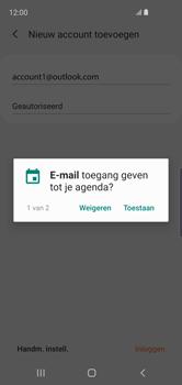 Samsung Galaxy S10e - E-mail - handmatig instellen (outlook) - Stap 11
