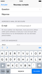 Apple iPhone 6 - Applications - Créer un compte - Étape 15