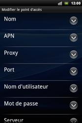 Sony Ericsson Xperia Mini Pro - Internet - configuration manuelle - Étape 9