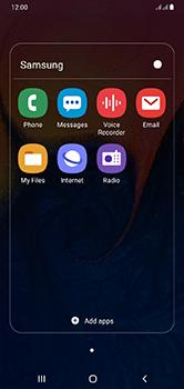 Samsung Galaxy A10 - SMS - Manual configuration - Step 4