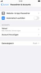 Apple iPhone 7 - iOS 13 - E-Mail - 032b. Email wizard - Yahoo - Schritt 9