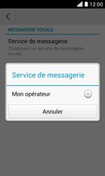 Huawei Ascend Y330 - Messagerie vocale - configuration manuelle - Étape 8