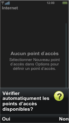 Sony U5i Vivaz - Internet - Configuration manuelle - Étape 8