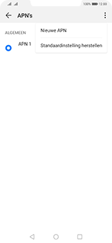 Huawei Mate 20 Pro - Internet - Handmatig instellen - Stap 8