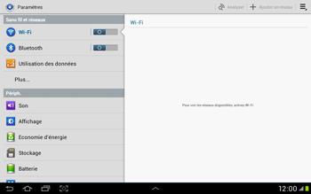 Samsung Galaxy Tab 2 10.1 - Internet et roaming de données - Configuration manuelle - Étape 4