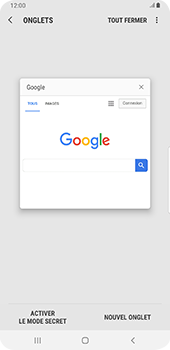 Samsung Galaxy Note9 - Android Pie - Internet et roaming de données - Navigation sur Internet - Étape 16