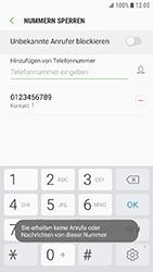 Samsung G390F Galaxy Xcover 4 - Anrufe - Anrufe blockieren - Schritt 11