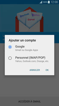 Samsung Galaxy Note 4 - E-mail - 032a. Email wizard - Gmail - Étape 7