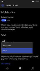 Microsoft Lumia 950 - Internet - Disable data roaming - Step 7