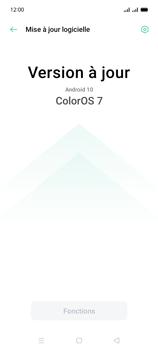 Oppo A15 - Aller plus loin - Mettre à jour le logiciel interne de votre mobile - Étape 7