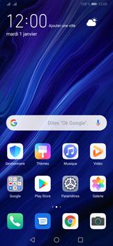 Huawei P30 Pro - E-mails - Ajouter ou modifier votre compte Gmail - Étape 2