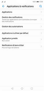 Huawei P20 pro - Applications - Supprimer une application - Étape 4